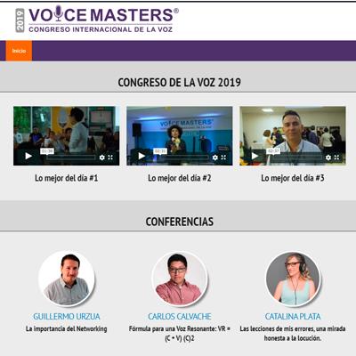 Congreso de la voz online